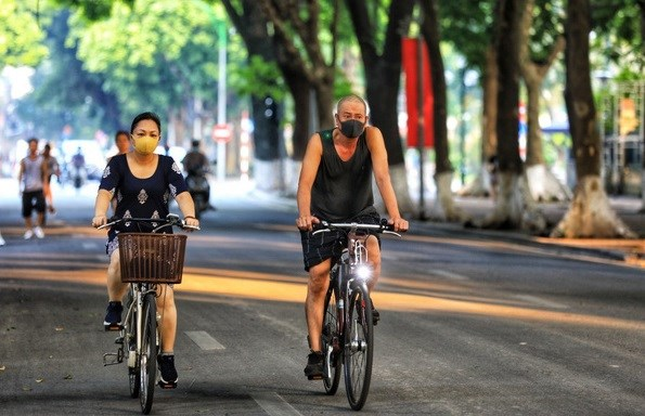 Hanoi allows outdoor sport activities from September 28 hinh anh 1