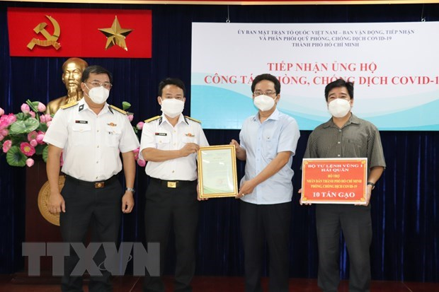 More medical equipment handed over to HCM City hinh anh 1