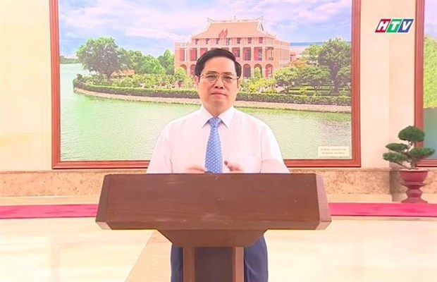 Art programme promotes great national unity in fighting COVID-19 hinh anh 2