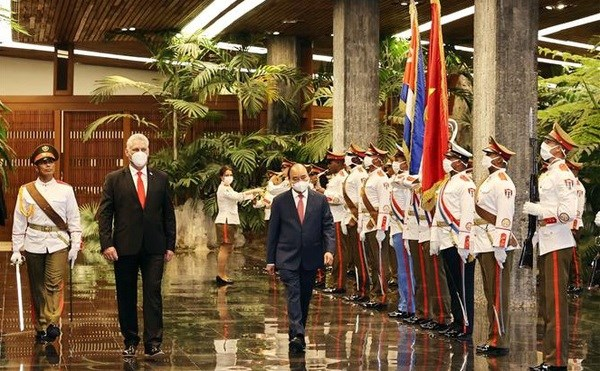 President's trip to Cuba, US - Great success of vaccine diplomacy hinh anh 1