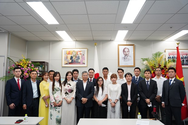 Association of Vietnamese in Fukuoka holds second congress hinh anh 1