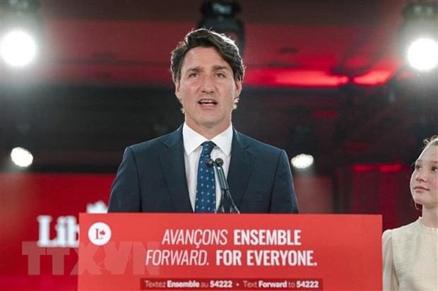 Congratulation to Canadian Prime Minister over Liberal Party's election win hinh anh 1