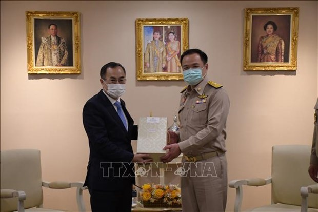 Vietnam, Thailand enhance collaboration in health amidst COVID-19 hinh anh 1