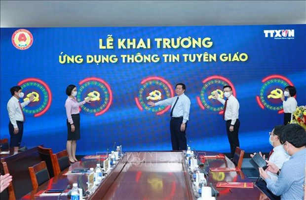 Party's Commission for Information and Education launches information app hinh anh 1