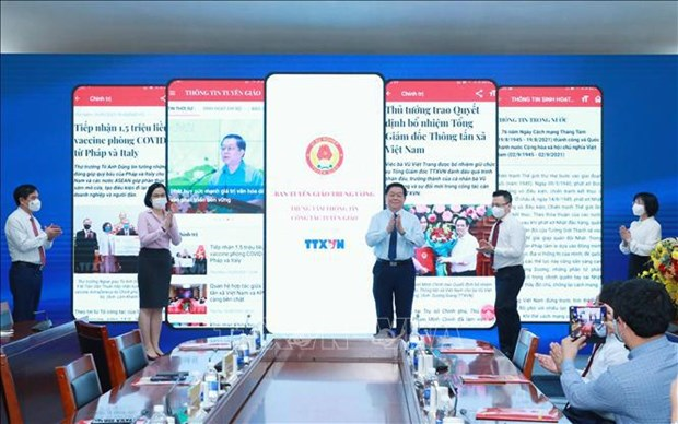Party's Commission for Information and Education launches information app hinh anh 2