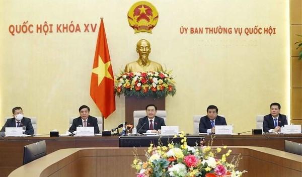 NA Chairman Vuong Dinh Hue meets US businesses hinh anh 2
