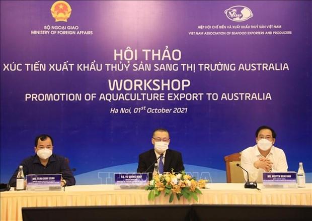 Thủy sản Việt Nam được ưa chuộng tại Úc hinh anh 1