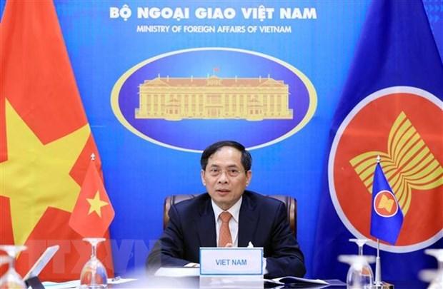 Vietnam calls for strengthening inter-sectoral, inter-pillar coordination in ASEAN hinh anh 1