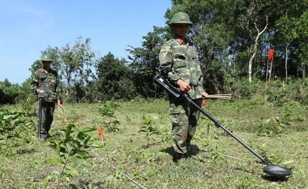 Vietnamese, UK organisations cooperate in addressing post-war bombs, mines hinh anh 1