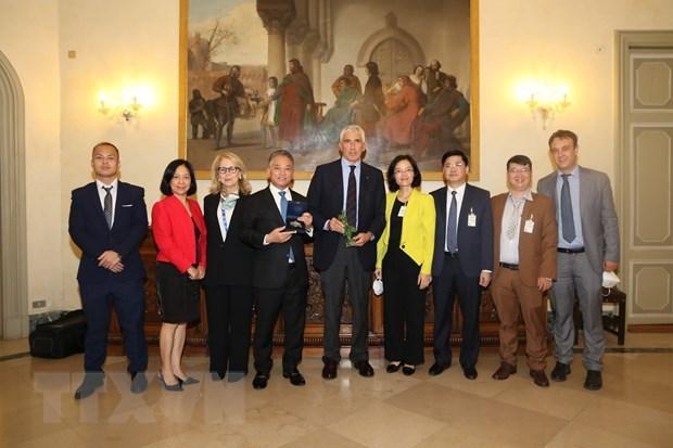 Vietnam attends IPU's Pre-COP26 parliamentary meeting hinh anh 1