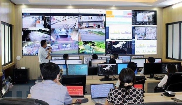 Quang Ninh looks to take lead in IT application in COVID-19 fight hinh anh 1