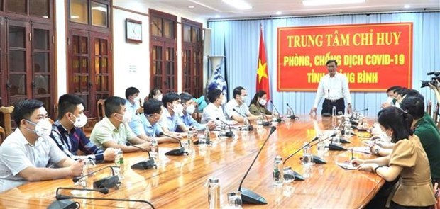 Quang Binh province supports Lao locality in COVID-19 fight hinh anh 1