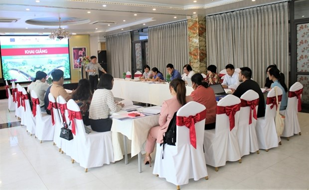 Training programme launched to support ethnic minorities land and resource rights hinh anh 1