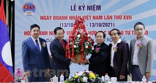 Vietnamese businesses greatly contribute to Laos's socio-economic development hinh anh 1