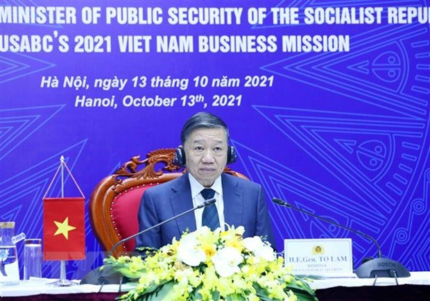 Vietnam, US seek to beef up business, trade cooperation hinh anh 1