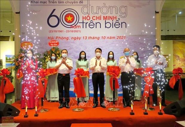 Exhibition marks 60th anniversary of Ho Chi Minh Trail at Sea hinh anh 2