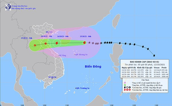 Central localities asked to brace for Storm Kompasu hinh anh 2