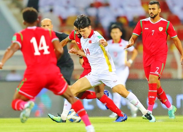 Vietnam lose 1-3 to Oman in World Cup qualifiers hinh anh 1
