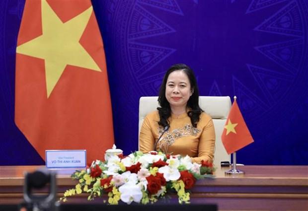 Vice President attends third Eurasian Women's Forum hinh anh 2