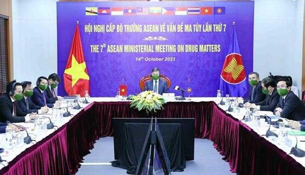Ministers meet to talk actions towards drug-free ASEAN hinh anh 1