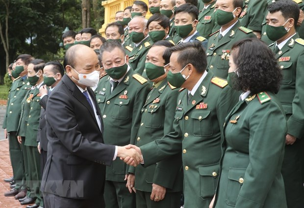 State leader lauds war veterans' business achievements, social responsibility hinh anh 1