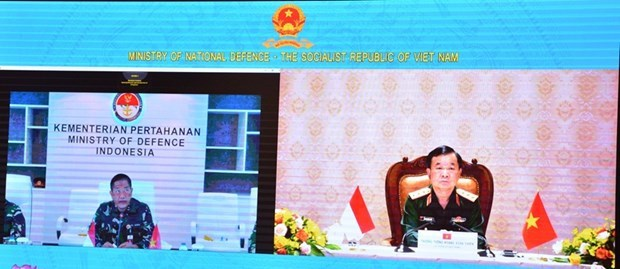 Vietnam, Indonesia hold 2nd defence policy dialogue hinh anh 2