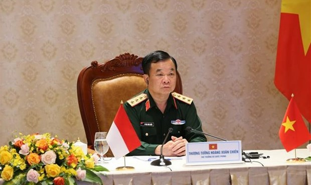 Vietnam, Indonesia hold 2nd defence policy dialogue hinh anh 1