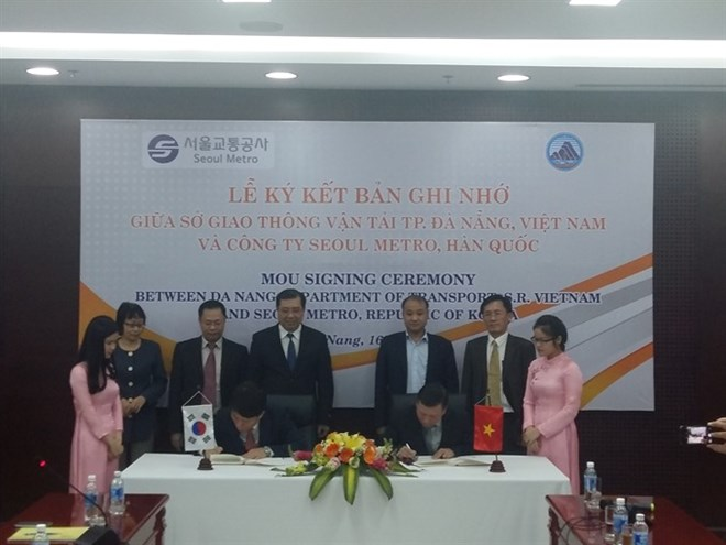 Agreement On Da Nang Urban Railway Vietnam Vietnamplus