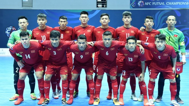 Vietnam beat hosts Chinese Taipei 3-1 for a berth in the quarter-finals of  the AFC Futsal Championship on February 5 (Photo  AFC) 938dfdf17817b