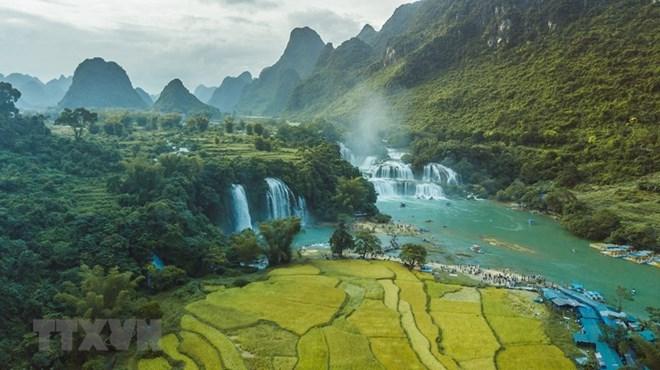 Cao Bang Geopark di Vietnam