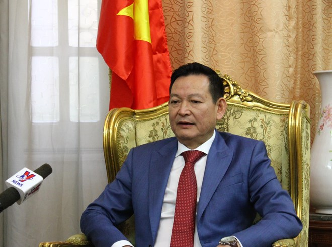Image result for Vietnamese Ambassador to Egypt Tran Thanh Cong