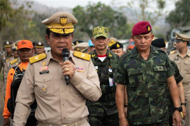 Thai army chief warns against post-election protests