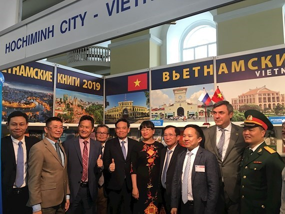 HCM City joins Saint Petersburg int'l book fair for first