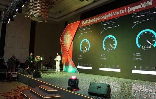 Telecom group launches 5G technology in Myanmar | Vietnam+