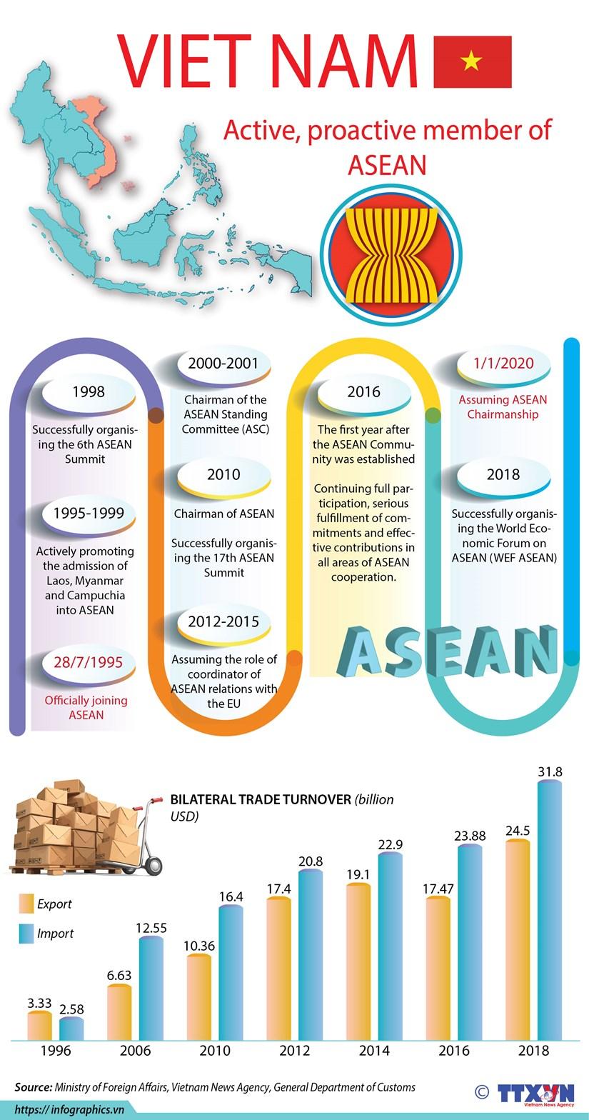 Vietnam - an active, proactive member of ASEAN hinh anh 1