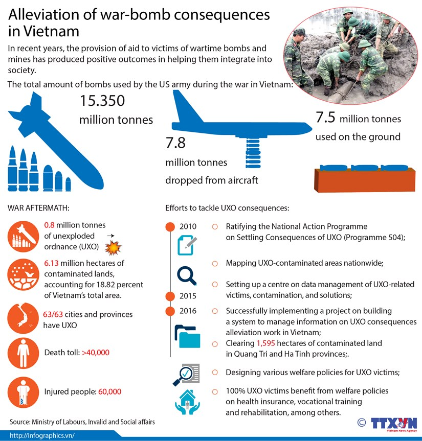 Alleviation of war-bomb consequences in Vietnam hinh anh 1