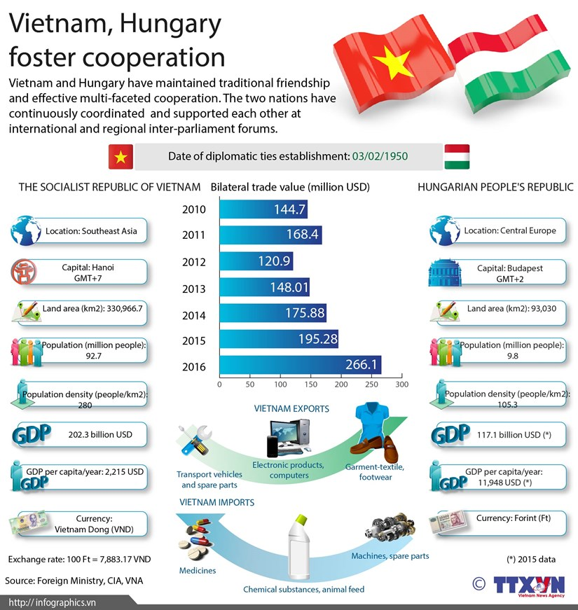 Vietnam, Hungary foster cooperation hinh anh 1