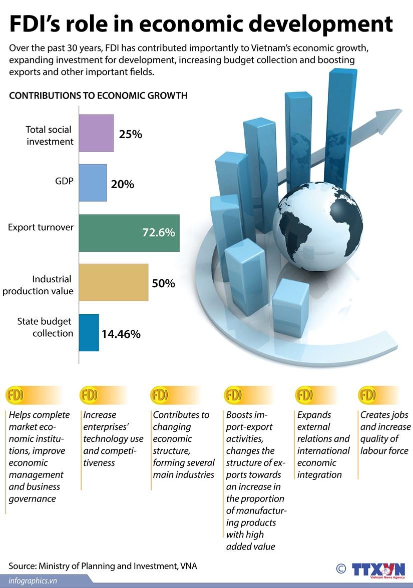FDI's role in economic development hinh anh 1