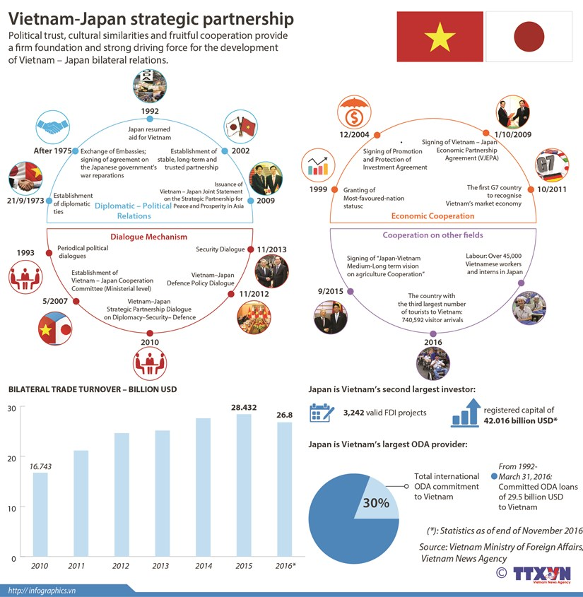 Vietnam-Japan strategic partnership hinh anh 1
