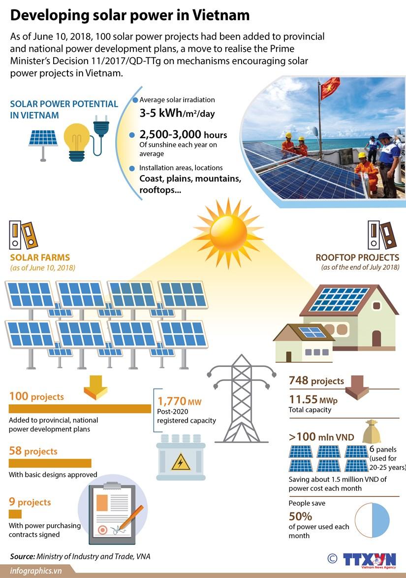 Developing solar power in Vietnam hinh anh 1