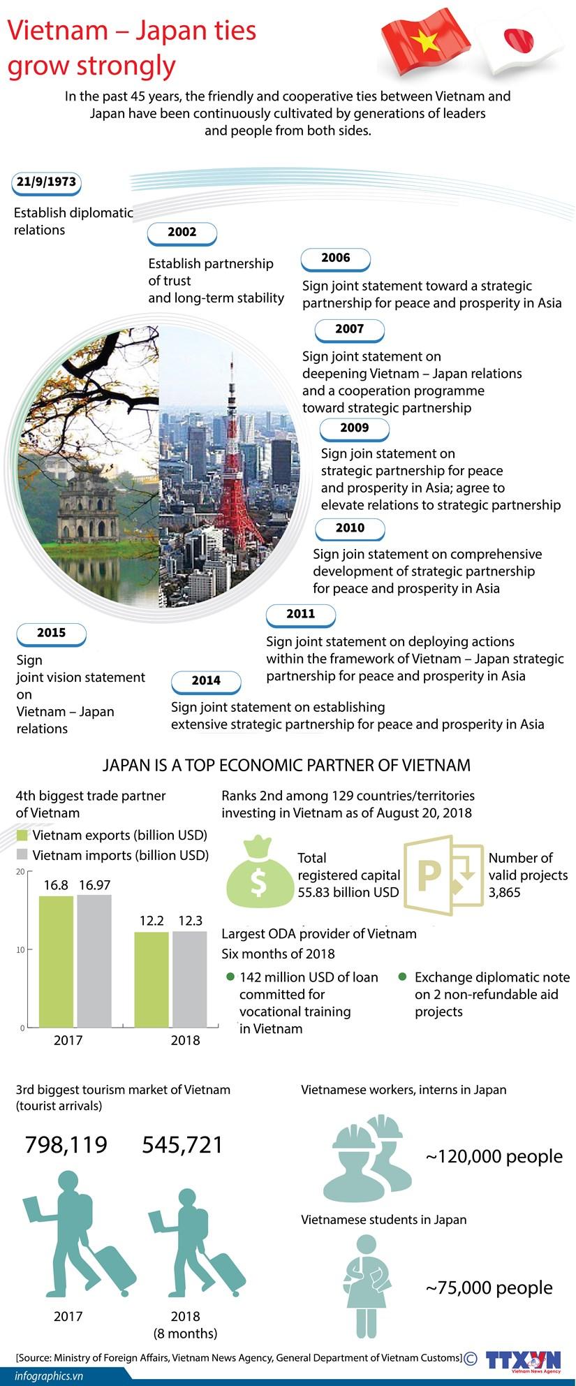 Vietnam - Japan ties grow strongly hinh anh 1