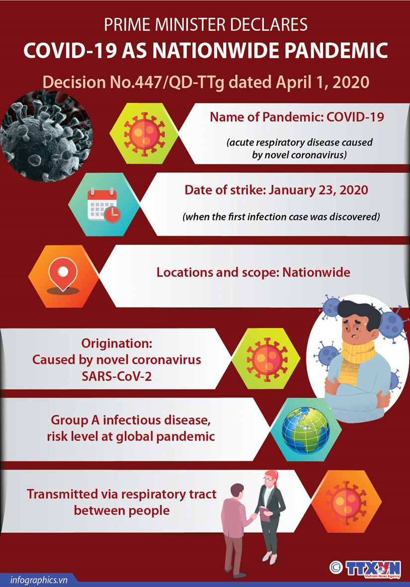 Prime Minister declares COVID-19 as nationwide pandemic hinh anh 1