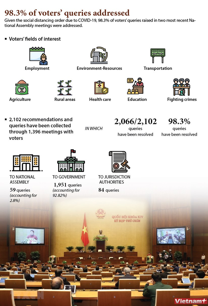 98.3% of voters' queries addressed hinh anh 1