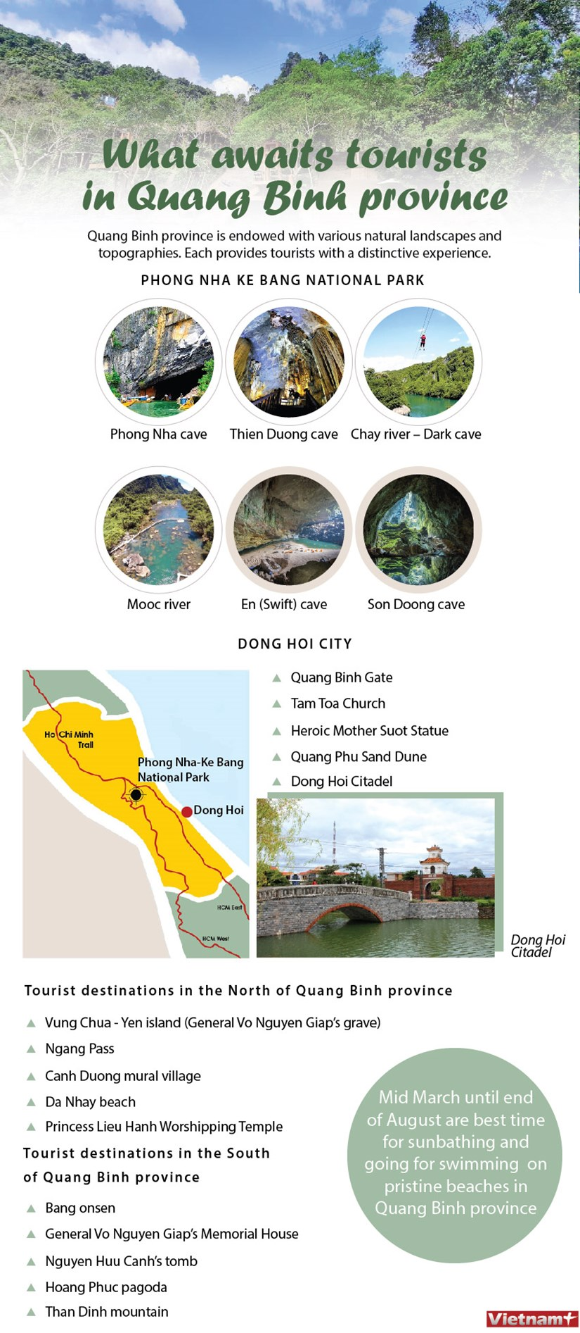 What awaits tourists in Quang Binh province hinh anh 1