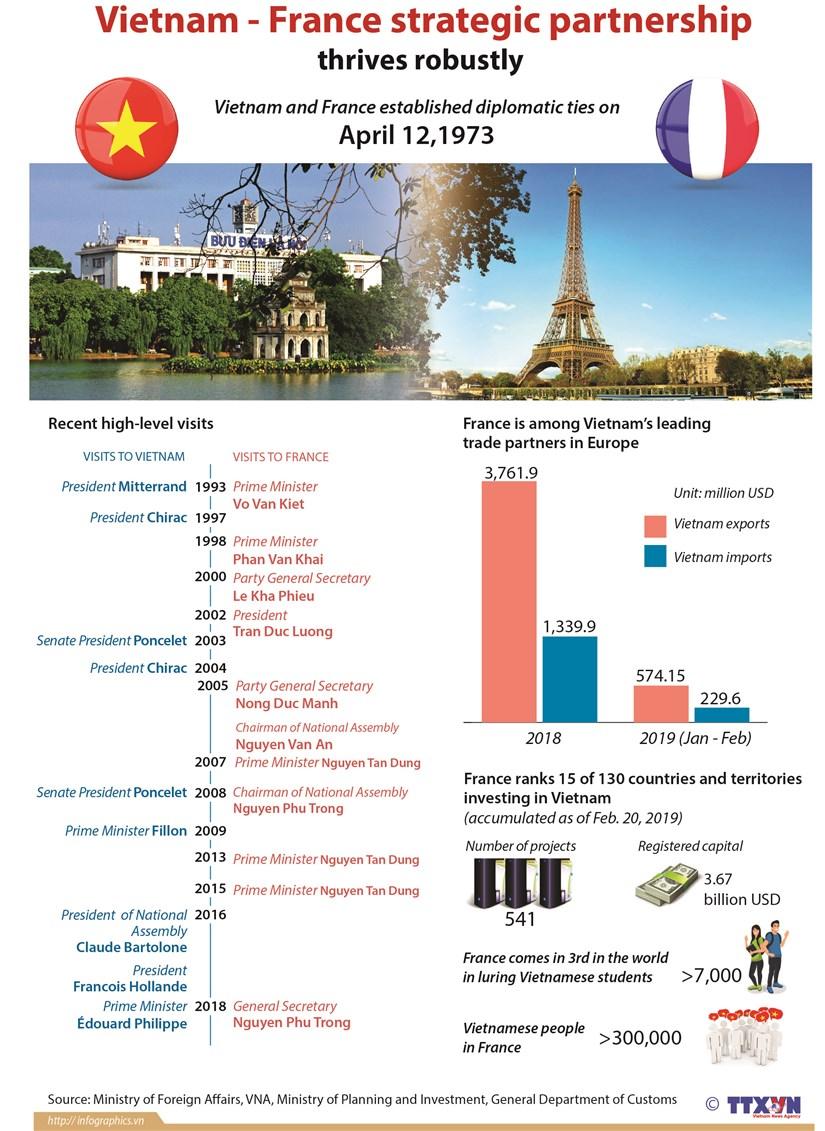 Vietnam - France strategic partnership thrives robustly hinh anh 1