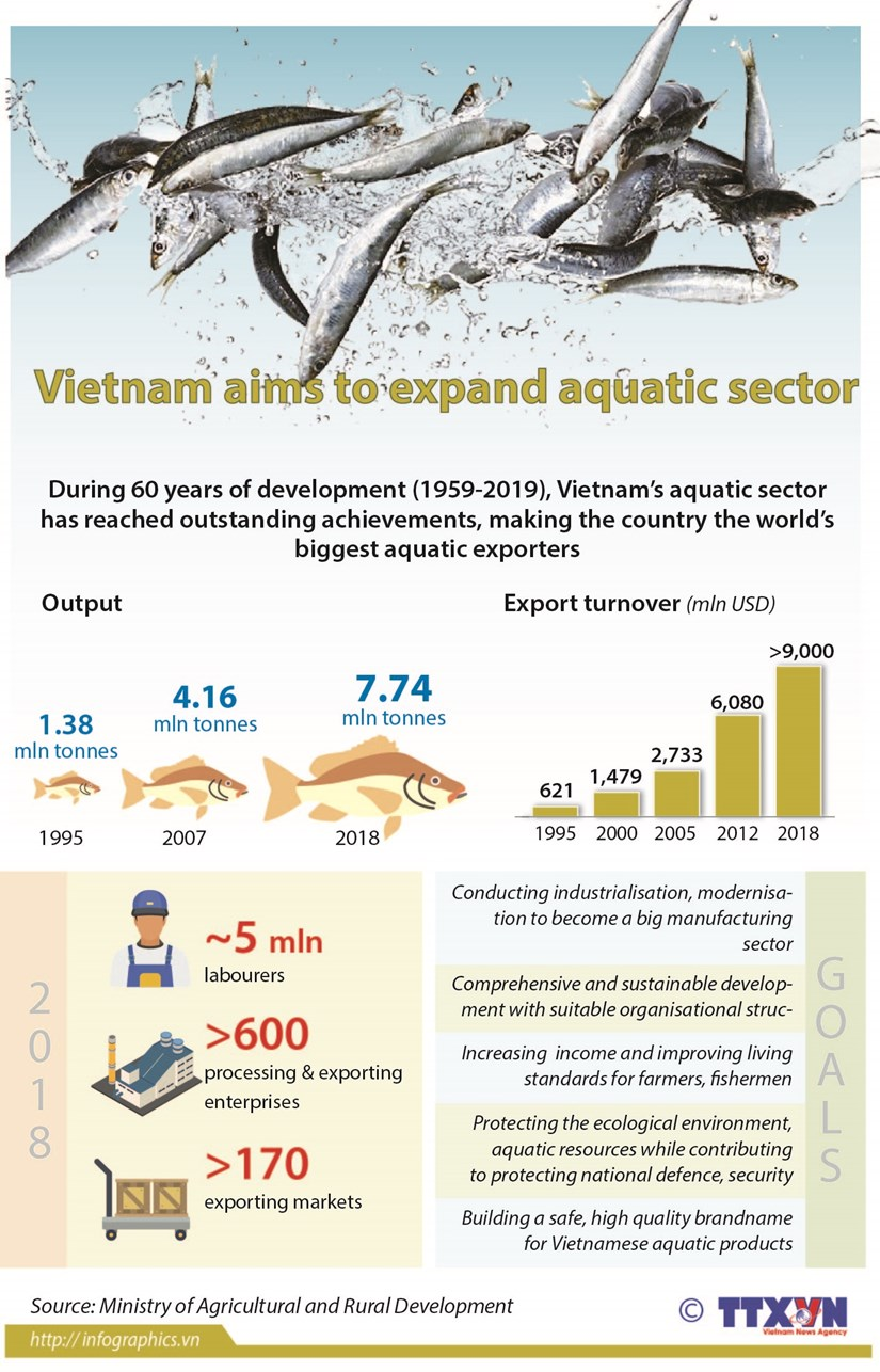 Vietnam aims to expand aquatic sector hinh anh 1