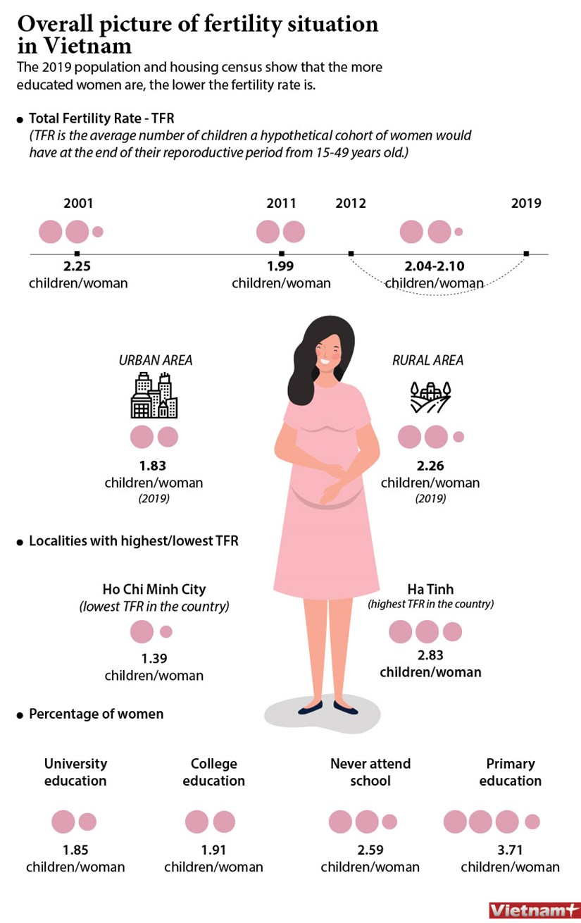 Overall picture of fertility situation in Vietnam hinh anh 1