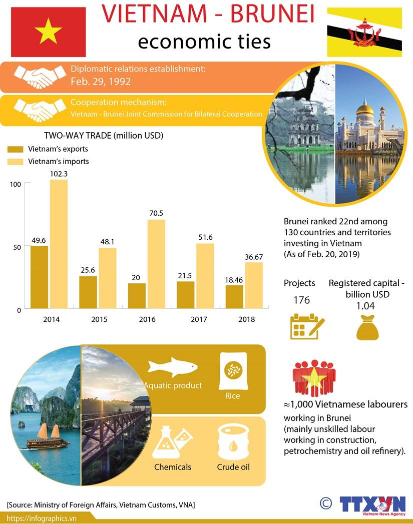 Vietnam - Brunei economic ties hinh anh 1