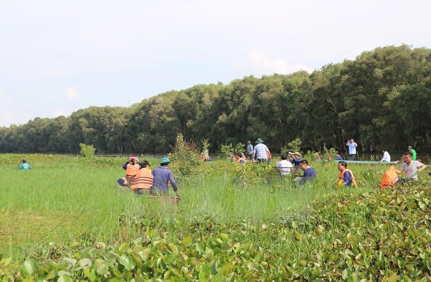 Experiencing life of western farmers in Tram Chim National Park |  Destinations | Vietnam+ (VietnamPlus)