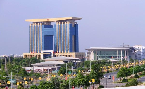 Trung tâm hành chính Thành Phố Bình Dương